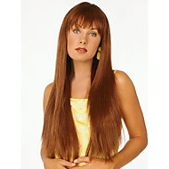 High Quality Capless Long  Straight Mono Top Virgin Remy  Human Hair Wigs 7 Colors to Choose