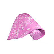 Baotao ® 6mm Yoga Mats Sticky Waterproof Snowflakes BT46