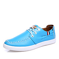 Men's Shoes Outdoor / Office & Career / Casual Oxfords Black / Blue / Royal Blue