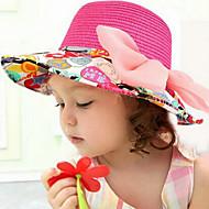Girl's Fashion Bow-knot Straw Sun Hat