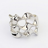 Europe And The United States Exaggerated Style Punk Personality Distorted Alloy Ring
