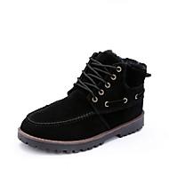 Men's Shoes Outdoor  Boots Black/Blue/Yellow