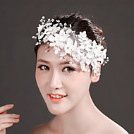 Imitation Pearl/Chiffon Headbands/Flowers With Imitation Pearl/Rhinestone Wedding/Party Headpiece