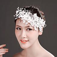 Celada Bandas de cabeza/Flores Boda/Ocasión especial Encaje/Rhinestone/Tul/Perla Artificial/Gasa Mujer Boda/Ocasión especial 1 Pieza