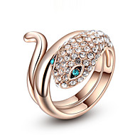 Women's Cubic Zirconia/Fashion Snake Alloy Ring