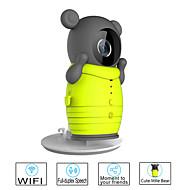 besteye® câmera wireless bonito com câmera de visão noturna ir apoio 32gb cartão de tf vigilância ip