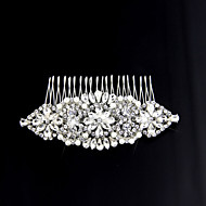 Women Alloy Hair Combs With Wedding/Party Headpiece