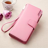 Women's Wallets Leather Purses  Wallets Wrist  Clutch Purse Cowhide Bi-fold Clutch Card & ID Holder
