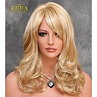 hot salg syntetisk paryk top kvalitet bløde naturlige paryk blonde paryk elegant glat hår paryk