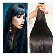3Pcs/Lot Virgin Peruvian Braiding Bulk Hair Extensions Natural Straight 14Inch To 32Inch Raw Human Hair bulk
