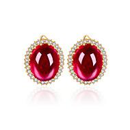 Fashion  zircon Stud Brand Earring (more colour)