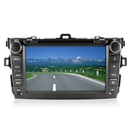 "8"" 2 Din Car DVD Player for 2007-2013 Toyota Corolla With Bluetooth,GPS,TV,FM"