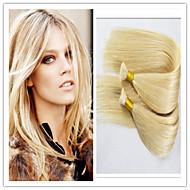 "3Pcs/Lot INDIAN VIRGIN Hair Bulk 14-32"" Human Braiding Hair Bulk Wholesale Bulk Hair Extensions 100G/Pc #613 Blonde"