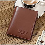 Herren-Gewerbliche Verwendungen-Brieftasche-PU