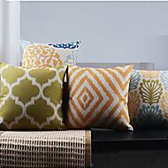 4古典的なミニマリズムフランスの田舎の装飾的な枕カバーのセット