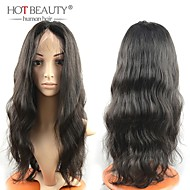10-30inches 100% Remy Human Hair Wig Body Wave Front Lace Wigs