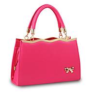 Women's Fashion Casual PU Messenger Shoulder Bag/Tote