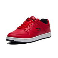 Scarpe da uomo Casual Tulle/Finta pelle Sneakers alla moda Rosso/Bianco/Grigio