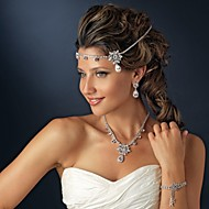 Crystal Zircon forehead Headband Hair Jewelry for Wedding Party