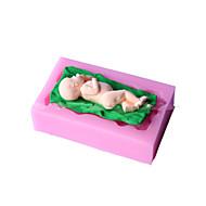 Sleeping Baby Shape Fondant Mold Cake Decoration Mold