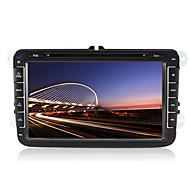 "8"" 2 Din Car DVD Player for 2007-2015 Volkswagen/Sagitar/Magotan With Bluetooth,GPS,TV,FM,IPOD"