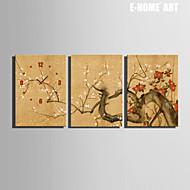 직사각형 현대/현대 벽 시계 , 기타 캔버스 35x50cm(14inchx20inch)x3pcs/40x60cm(16inchx24inch)x3pcs/ 50x70cm(20inchx28inch)x3pcs