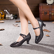 Non Customizable Women's Dance Shoes Modern Suede Cuban Heel More Colors