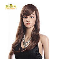 Hot Sale Brown Long Hair Heat Resistant Wavy Wig