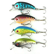 4pcs Hengjia Crank Baits 4.8g  50mm Fishing lures