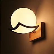 Candelabro de pared LED/Mini Estilo/Bombilla Incluida Tradicional/ Clásico Madera/ Bambú