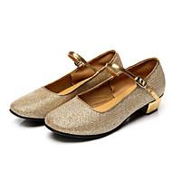 Sapatos de Dança ( Prateado / Dourado ) - Feminino / Infantil - Não Personalizável - Latina / Salsa