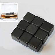 9 kpl / erä viski kivet rock-jääpalat vuolukivi juoda pakastin