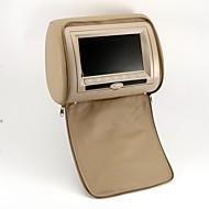 7-Zoll-Kopfstütze Auto DVD-Spieler-Unterstützung Spiele, SD-Karte (1 Paar)