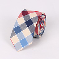 Thatcher Check Skinny Tie CT009