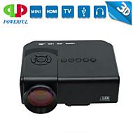 Powerful® M3 LCD Heimkino-Projektor HVGA (480x320) 45 Lumens LED 4:3/16:9