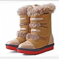 Children's  Shoes Outdoor Snow Boots Fur Boots Black/Brown/Orange