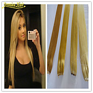 1pc Brazilian Hair Human Hair Extension Multiple Color Available Human Remy Flip In Hair Extensions