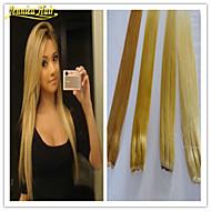 1pc extension de cheveux de cheveux multiples couleurs disponibles brazilian chiquenaude humaine dans les extensions de cheveux