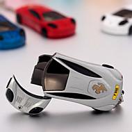 závodní auto ve tvaru jet hořák lehčí Ferarri pochodeň zapalovač s přívěšek na klíče (náhodné barvy)