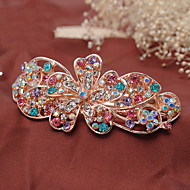 Women Rhinestone/Fashion Korean Style Alloy Headpiece - Special Occasion/Casual Barrette