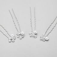 Women's/Flower Girl's Alloy/Imitation Pearl Headpiece - Wedding/Special Occasion Hair Pin 4 Pieces