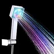 Современный Ручная душевая лейка Хром Особенность for  Светодиодная лампа / Дождевая лейка , Душевая головка
