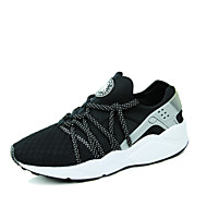 Running Shoes Men's Spring / Summer / Fall / Winter Comfort / Novelty / Round Toe Synthetic Lace-up Black / Red / Multi-color Walking