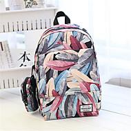 Unisex Canvas Baguette Backpack - Multi-color