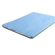 Solid Color Ultra Slim PU Silk Print Translucent Leather Case for iPad 2/3/4