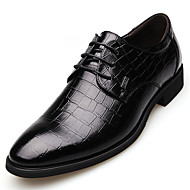 Men's Shoes Wedding/Outdoor/Office & Career/Party & Evening Leather Oxfords Black/Brown