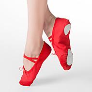 mulheres e dividir tela único chinelo ballet sapatos de dança para crianças