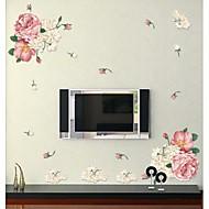정물화 벽 스티커 플레인 월스티커 , PVC 90cmx60cm