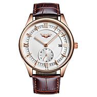 GUANQIN® Top Grade Japanese Quartz Waterproof Sapphire Watch Calendar Luminous Steel 35mm Sport Men's Wrist Watch Cool Watch With Watch Box