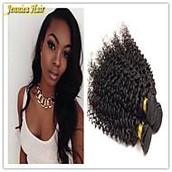 3 개 / 많은 브라질 처녀 머리 깊은 파 브라질 머리 번들 상품, 브라질 깊은 웨이브 인간의 머리 직조 확장